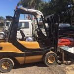 F01 H25T-02 1998 Linde H25T-02 Forklift